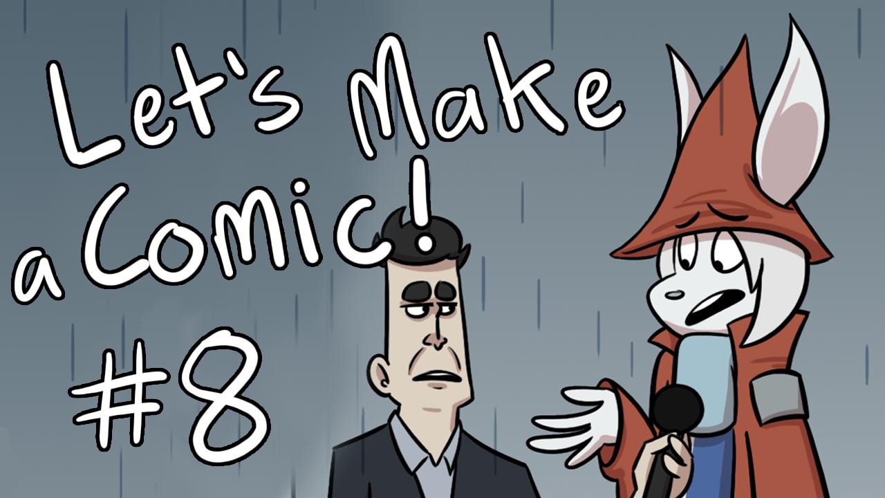 Kat's Korner 655: Let's make a comic #8!