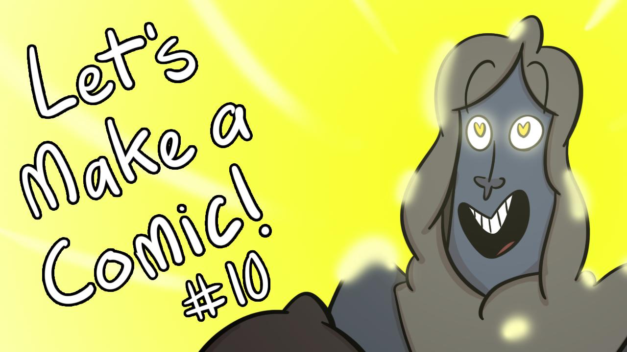 Kat's Korner 656: Let's make a comic! #10