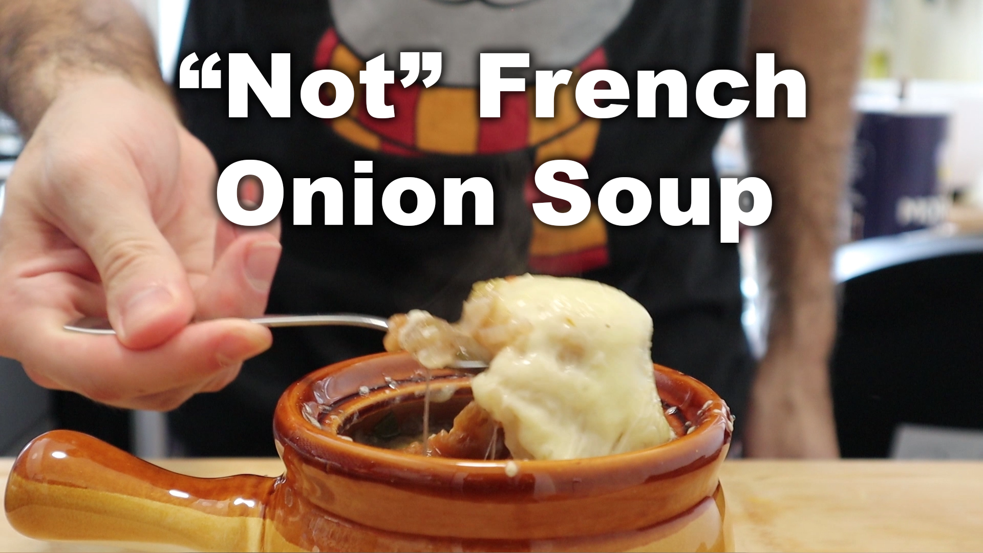"""You Don't Cook 003 – """"Not"""" French Onion Soup"""