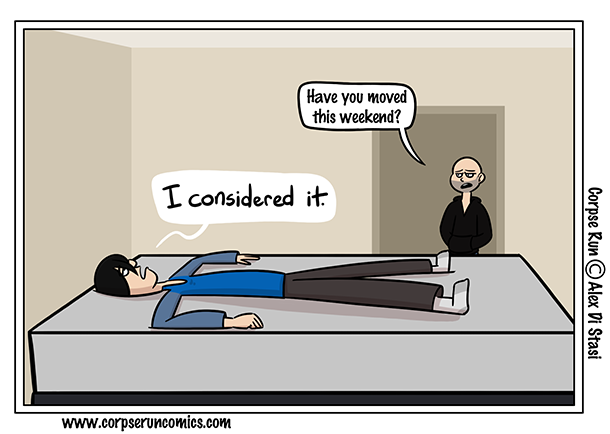 Corpse Run 945: Bed