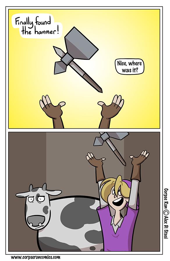 Corpse Run 990: Milkaton Hammer
